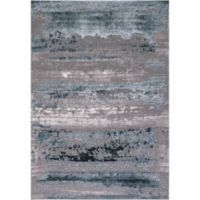 Thema Lakeside 7-Foot 10-Inch x 10-Foot 6-Inch Area Rug in Teal/Grey