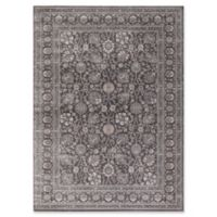 Kashan Floral 5-Foot 3-Inch x 7-Foot 3-Inch Area Rug in Grey