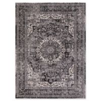 Kashan Heriz 5-Foot 3-Inch x 7-Foot 3-Inch Area Rug in Anthracite