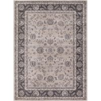 Kashan Mahal 3-Foot 3-Inch x 4-Foot 7-Inch Accent Rug in Ivory