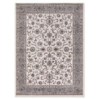 Concord Global Trading Kashan Bergama 5-Foot 3-Inch x 7-Foot 3-Inch Area Rug in Ivory