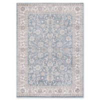 Concord Global Trading Kashan Bergama 5-Foot 3-Inch x 7-Foot 3-Inch Area Rug in Blue