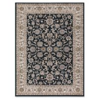 Concord Global Trading Kashan Bergama 5-Foot 3-Inch x 7-Foot 3-Inch Area Rug in Green