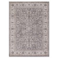 Concord Global Trading Kashan Bergama 5-Foot 3-Inch x 7-Foot 3-Inch Area Rug in Grey