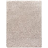 Ocean 3-Foot 3-Inch x 4-Foot 7-Inch Shag Accent Rug in Ivory