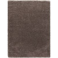 Ocean 7-Foot 10-Inch x 10-Foot 2-Inch Shag Area Rug in Light Brown