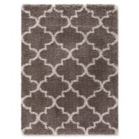 Ocean Marrakech 5-Foot 3-Inch x 7-Foot 3-Inch Shag Area Rug in Light Brown