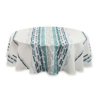 Noritake® Milo 70-Inch Round Tablecloth in Blue