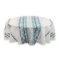 Noritake® Milo 70-Inch Round Tablecloth in Blue