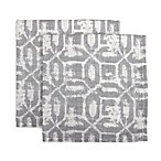 Noritake® Batik Napkins in Slate (Set of 2)