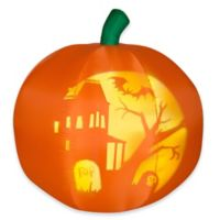 National Tree Company® 5-Foot Inflatable Panoramic Projection Pumpkin