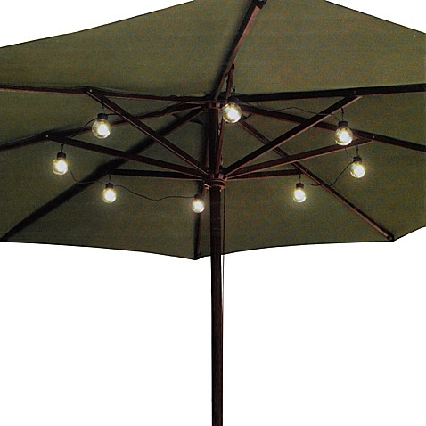 Led Umbrella Globe String Lights Bed Bath Amp Beyond