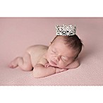 Tiny Blessings Boutique Newborn Heart Rhinestone Crown in Silver
