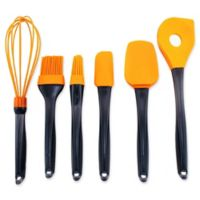 BergHOFF® Geminis 6-Piece Silicone Utensil Set in Orange