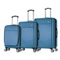 InUSA Avila 3-Piece Hardside Spinner Luggage Set in Navy Blue