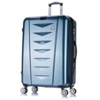 InUSA Airworld 28-Inch Hardside Spinner Checked Luggage in Blue