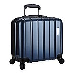 Latitude 40°N™ Ascent 16-Inch Hardside Rolling Spinner Underseater in Blue
