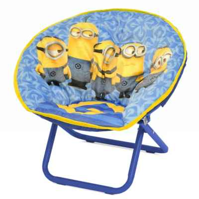 Minions Mini Saucer Chair. Minions Products   Accessories   Minions Bedding and Bath Sets