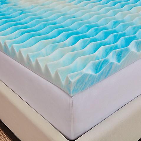 Authentic Comfort Dorm 3 Inch Bluewave Memory Foam