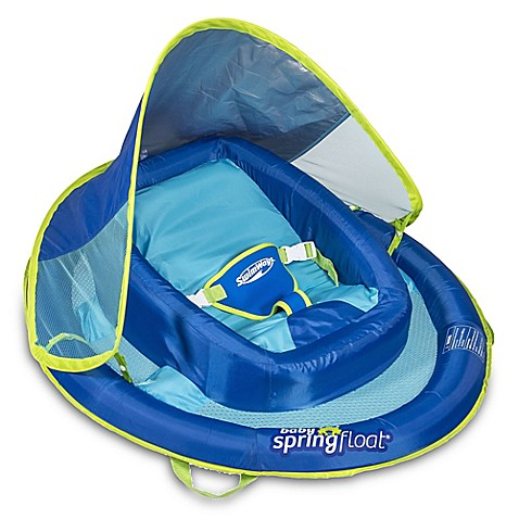 Swimways Infant Baby Spring Float With Sun Canopy Buybuy