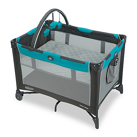 graco pack 39 n play on the go travel playard in finch bed bath beyond. Black Bedroom Furniture Sets. Home Design Ideas