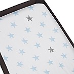 aden® by aden+anais® 2-Pack Dapper Playard Changing Pad Cover in Blue