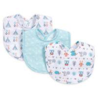 Trend Lab® 3-Piece Forest Babies Bib Set