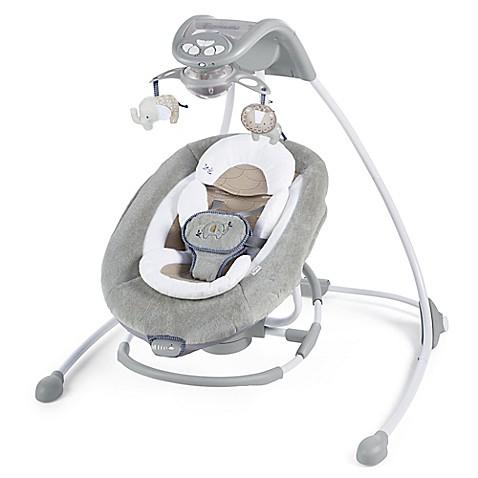 Ingenuity Dreamcomfort Inlighten Cradling Swing Amp Rocker