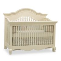 Suite Bebe Julia 4-in-1 Convertible Crib in White Linen