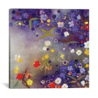 iCanvas Gardens in the Mist 12-Inch Square Canvas Wall Art
