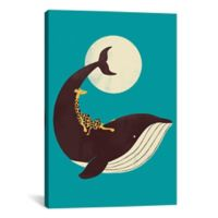 iCanvas The Giraffe and the Whale 12-Inch x 18-Inch Canvas Wall Art