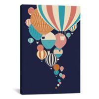 iCanvas Balloons 18-Inch x 12-Inch Canvas Wall Art