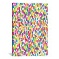 iCanvas Color Joy 18-Inch x 12-Inch Canvas Wall Art
