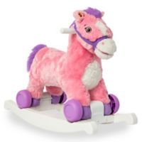 Rockin' Rider Candy 2-in-1 Rocking Pony in Pink