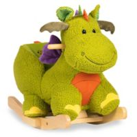 Rockin' Rider Doodle the Dragon Baby Rocker in Green