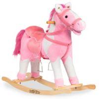 Rockin' Rider® Tulip Rocking Horse in Pink
