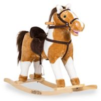 Rockin' Rider® Turbo Rocking Horse in Brown