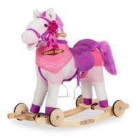Rockin' Rider® Apple 2-in-1 Rocking Pony in Pink