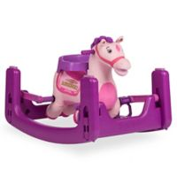Rockin' Rider Lavender Grow-With-Me Pony in Pink