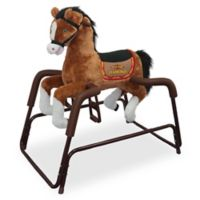 ef2c3869 Rockin' Rider Diamond Spring Rocking Horse in Brown