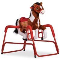 Rockin' Rider Prince Spring Rocking Horse in Brown