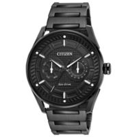 Citizen Drive Men's 42mm Watch in Black Ion-Plated Stainless Steel with Black Dial