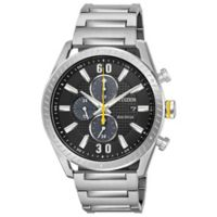 Citizen Drive Men's 42.5mm Chronograph Watch in Stainless Steel with Black Dial