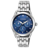 Citizen Drive Ladies' 37.5mm Swarovski® Crystal Chronograph Watch in Stainless Steel