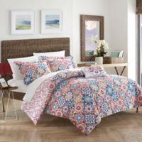 Chic Home Linden Reversible King Duvet Cover Set in Pink