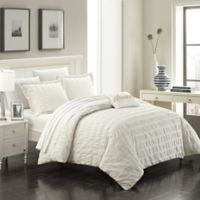 Chic Home Calamba Queen Duvet Cover Set in Beige