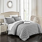 Chic Home Calamba King Duvet Cover Set in Grey