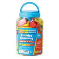 Educational Insights® Blends and Digraphs Phonics Dominoes