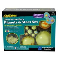 Educational Insights® GeoSafari Glow-in-the-Dark Planets and Stars Set