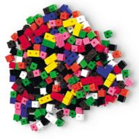 Learning Resources® 1000-Piece Interlock Centimeter Cube
